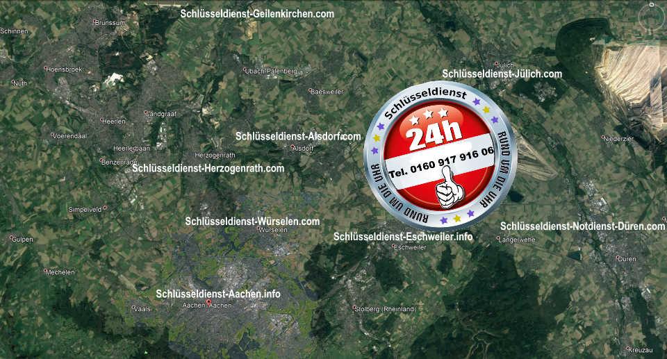 Notdienst Gebiet Karl - Schnell Service als Schlüssel Notdienst Monteur