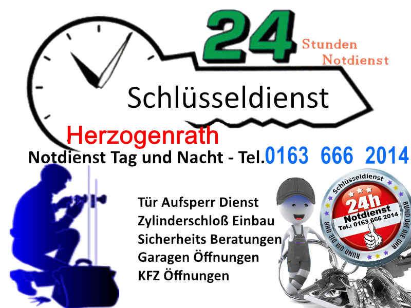 Schlüsseldienst Herzogenrath Notdienst Tag und Nacht