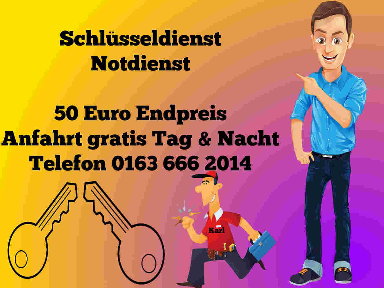 Schlüsseldienst Herzogenrath Merkstein Kohlscheid zum Festpreis - Notdienst Tag und Nacht zum 50 Euro Endpreis