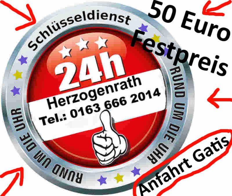 Herzogenrath Schlüsseldienst 50 Euro Festpreis - Tür Öffnen zum Festpreis in Herzogenrath Merkstein sowie Herzogenrath Kohlscheid und Herzogenrath Straß