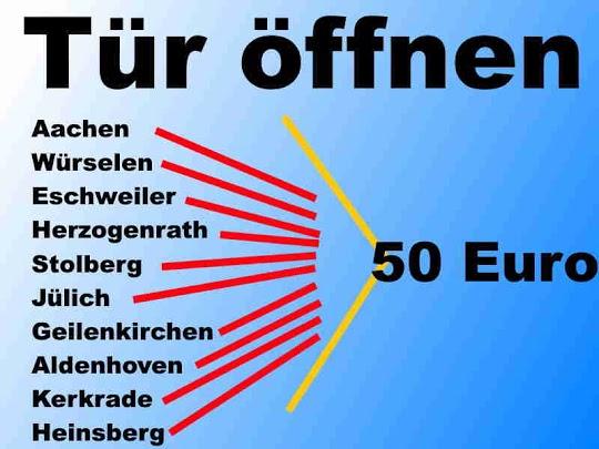 Tür Öffnen Kreis Aachen, Heinsberg und Jülich sowie Düren und Geilenkirchen